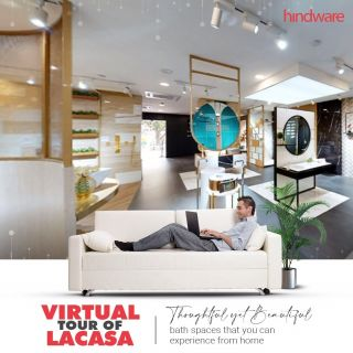 It's time to immerse in the incredible experience that the Lacasa store is offering. The bath spaces are being showcased in new and innovative ways. Discover the phenomenal collections that can spruce up your bathrooms. Wait no more. Book your slot for the Virtual Tour and immerse yourself in the experience. Click here - https://bit.ly/3q4x1MZ #hindwarehomes  #Hindware #ExperienceCenter #Lacasa #virtualtour